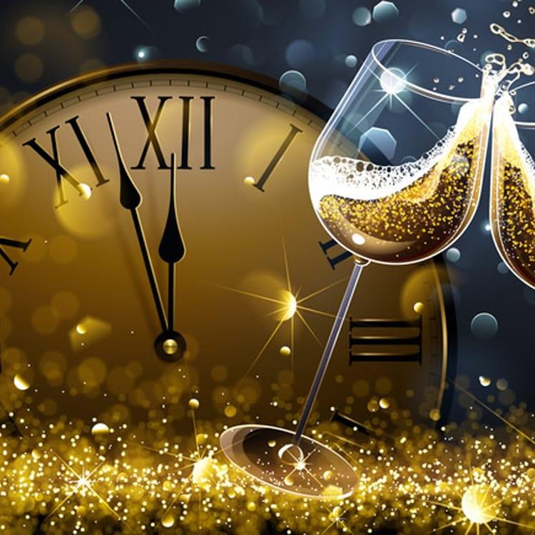 image of New year celebration